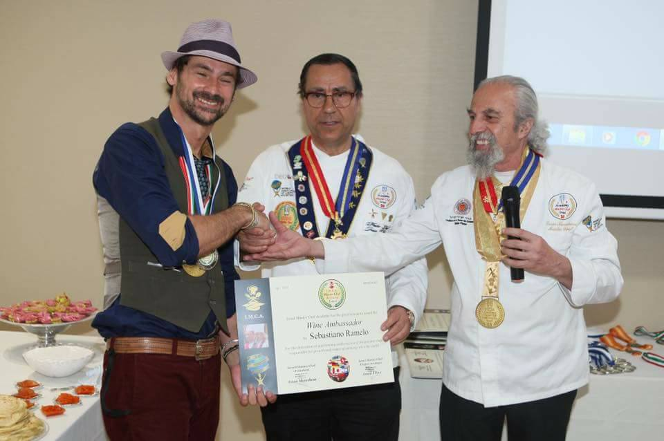 Awards Wine Ambassador Israel Master Chef Academy at Israel